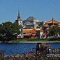 Epcot China And Norway by Carol  Bradley