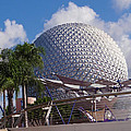 Epcot Dome by Richard P Davis