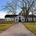 Erdenheim Farm Equestrian Stable by Bill Cannon