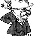 Ernest Rutherford, Caricature by Gary Brown