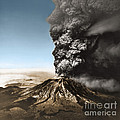 Eruption Of Mount St. Helens by Science Source