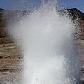 Eruption Of Strokkur Geysir, Iceland by Richard Roscoe