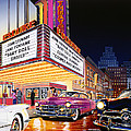 Esquire Theater by Bruce Kaiser