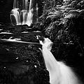 Ess-na-crub Waterfall On The Inver River In Glenariff Forest Park County Antrim Northern Ireland by Joe Fox