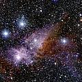 Eta Carinae Nebula, Infrared Image by 2MASS project / NASA