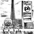Etched Vegas by Ricky Barnard