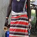 Ethiopia-south Tribesman No.3 by Robert SORENSEN