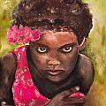 Etiopien Girl by Shuly Haimsohn Weiner
