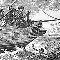 European Sailors Throwing African by Everett