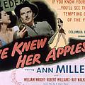 Eve Knew Her Apples, Ann Miller by Everett