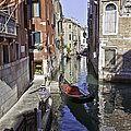 Even A Gondolier Has To Take A Break by Madeline Ellis