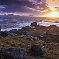 Evening At Breasty Bay Near Malin Head by Gareth McCormack