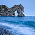 Evening At Durdle Door by Ian Middleton