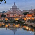 Evening In Rome by Andrea Franchi