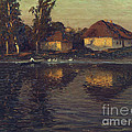 Evening In Ukraine by Pg Reproductions