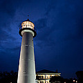 Evening Lighthouse by Joan McCool