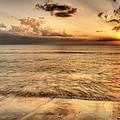 Evening Rays  by Gouzel -