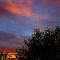 Evening Sky In Palm Desert California by Sherri's - Of Palm Springs