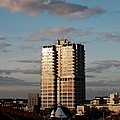 Evening View Of Murray John Tower In Swindon by Nick Temple-Fry