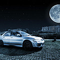 Evo 7 At Night by Steve Purnell