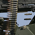 Expended Brass Falls From A Machine Gun by Stocktrek Images