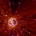 Exploding Star, Conceptual Artwork by Victor Habbick Visions