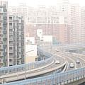 Expressway Through City by Lawren