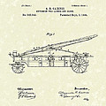Extension Fire Ladder 1895 Patent Art by Prior Art Design