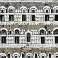 Exterior Of Ornate Mud House, Close Up by Axiom Photographic