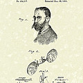 Eyeglasses 1890 Patent Art by Prior Art Design