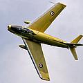 F-86 Sabre Topside by Bill Lindsay
