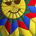 Face Inside Hot Air Balloon  by Garry Gay