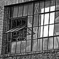 Factory Air In New Orleans In Black And White by Kathleen K Parker