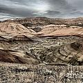 Faded Painted Hills by Adam Jewell
