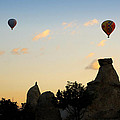 Fairy Chimneys And Balloons by RicardMN Photography