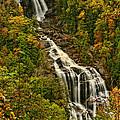 Fall At Whitewater Falls  by Shari Jardina