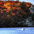 Fall Boating At Starved Rock by Coby Cooper