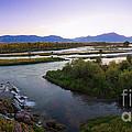 Fall Creek Panorama by Idaho Scenic Images Linda Lantzy