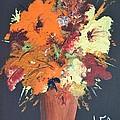 Fall Flower Arrangement 1 by Leo Gordon