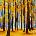 Fall Forest by Scott Alberts