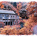 Fall Grist Mill by Steve McKinzie
