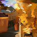 Fall In Nevada City by Lisa Redfern