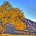 Fall In The Flatirons by Scott Mahon