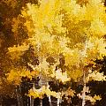 Fall In The Sierra II by Carol Leigh