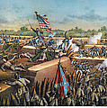 Fall Of Petersburg, 1865 by Granger