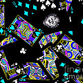 Fall Of The House Of Cards by Wingsdomain Art and Photography