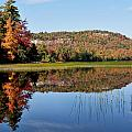 Fall On Lake Lila by Peter DeFina