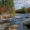 Fall On Swift River by Paul Mangold