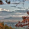 Fall View From Roanoke Mountain by James Woody