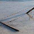 Fallen Fence 4 by David Kleinsasser
